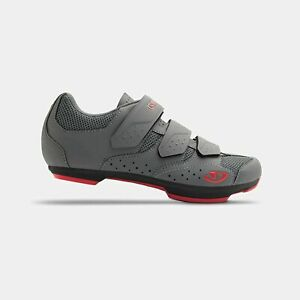 Giro Rev W Womens Road Cycling Shoe − 7.5 39, Titanium/Bittersweet (2020)
