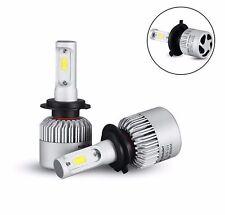 KIT H7 LAMPADE A LED COB FULL LED 16000 LUMEN 6500K DIGITALE 12V 24V CAMIO AUTO