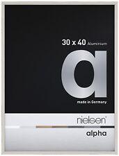 Nielsen Alpha Picture Frame White Oak 30x40cm