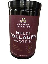 Ancient Nutrition Multi Collagen Protein Powder  16.2 Oz. Bb 7/22