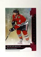 2019-20 UD Artifacts Pink #44 Duncan Keith /85