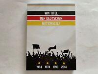 Medaillen Gigant 70 mm, WM Titel der deutschen Nationalelf, 110 g