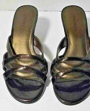 Dressbarn Nexus Women's Shoes Brown Open Toe Brown Heels 7M