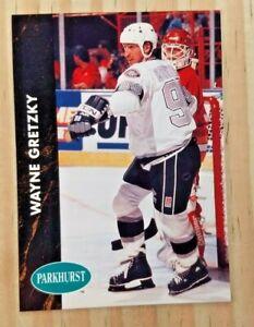 1991-92 PARKHURST WAYNE GRETZKY CARD#73 MINT LOS ANGELES KINGS OILERS RANGERS