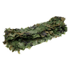 Hunting Military Camouflage Net Woodland Leaves Camo Netting Cover 7m x 1.5m