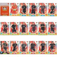 Match Attax 17/18 2017/2018 Bayer Leverkusen Set Komplett Basiskarten 17 18
