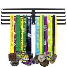 Sport Medal Hanger Holder Medal Display Show Rack Challenge Triathlon 4   .-
