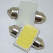 2x 31mm White DE3175 12chips COB LED Bulbs For Car Interior Dome Map Lights Lamp