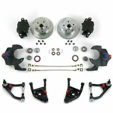 "67-69 Camaro/Firebird 2"" Drop Brake Conversion Kit with Tubular Control Arms"