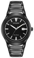 Citizen Eco-Drive Men's AW1558-58E Paradigm Black Dial Two-Tone Band 40mm Watch