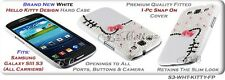 for SAMSUNG GALAXY S3 SIII HARD TPU CASE COVER SHINY RUBBERIZED TOUCH THROUGH NW