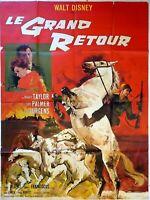 Plakat Kino Le Grand Rückkehr Walt Disney - 120 X 160 CM