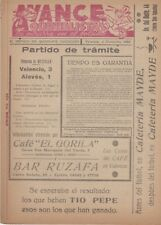 VALENCIA V ALAVES 4 DECEMBER 1955 QUINELISTA VALENCIANO POST MATCH ISSUE
