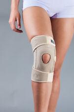Neopren-Kniebandage mit integriertem Silikonring und Patellaaussparung