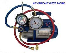 KIT CARICA E VUOTO POMPA 70 LT RICARICHE GAS R410 R32 CONDIZIONATORE NEW