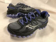Saucony Run any Where Women's RUINING SHOES  Size 5.5  BLACK/Grary,Uk 3.5 Eur 36