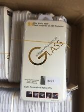 50 x TEMP GLASS SCREEN PROTECTOR  FOR APPLE IPHONE  6 PLUS JOBLOT BULK WHOLESALE