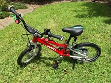 "Woom 2 14"" Kids Red Pedal Bike great condition!"