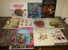 Job lot Flower Arranging Books Dried Flowers Country Flowers  Encyclopedia of