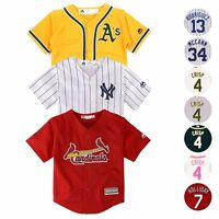 c5effb462 MLB Majestic Cool Base Home Away Alt Player Jersey Collection Toddler SZ  (2T-4T
