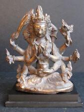 Rare Statuette Newar, Vasudhara du NÉPAL