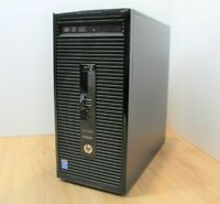 HP ProDesk 400 G2 Windows 10 Tower PC Intel Core i5 4th Gen 3GHz 4GB RAM 1TB HDD