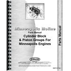 New Parts Manual for Minneapolis Moline Engine Tractor