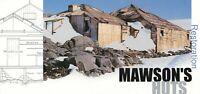 1999 AUSTRALIA AAT RESTORATION of MAWSON'S HUTS STAMP PACK - MINT & PERFECT