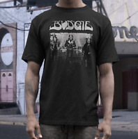Budgie  t shirt  Welsh rock metal NWOBHM  metallica black sabbath