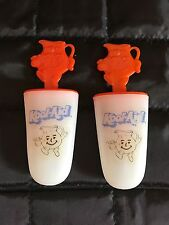 Vintage Kool-Aid Ice Popsicle Makers Pudding Pops Set of 2 FREE SHIP