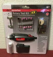 Drill Master Rotary Tool Kit ( 80pcs ) NIB   #63235     Crafts ~ Models ~ Trains