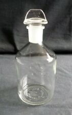 Corning Pyrex 500ml Narrow Mouth Reagent Bottle With 24 Glass Stopper 1500 500 B