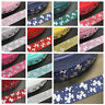 NEW DIY 5 Yards 25mm Hot Silver Butterfly Pattern Grosgrain Ribbon Hair Bow Part