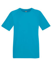 Fruit of the Loom MEN'S GYM T-SHIRT SPORT TRAINING WICKING COOL BREATHABLE S-3XL