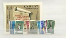 1968 MNH Cyprus year collection