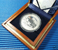 2008 China 300 Yuan Beijing Olympics Games 1 Kg Silver Coin with Box and COA #B