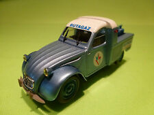 NOREV 1:43 CITROEN 2CV  PICK-UP   -  BUTAGAZ   - RARE SELTEN - VERY GOOD