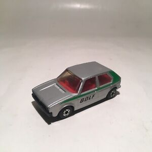 Vintage Matchbox Lesney Superfast No7 VW Golf Silver