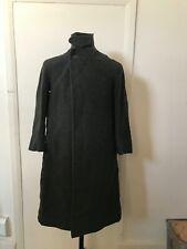 Vintage 1940s Burberrys Prorsum Charcoal Grey Wool Motoring Coat Boxed