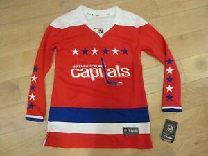 Fanatics Washington Capitals Red Alternate Jersey (Women Small/Medium/Large/XL)