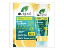 2 x 50ml DR ORGANIC Oil Control Moisturiser - Skin Clear - Organic Tea Tree