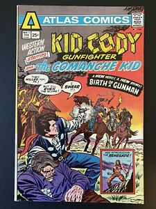 Western Action #1 Kid Cody Atlas Comics February 1975 HUGE AUCTION NOW!!