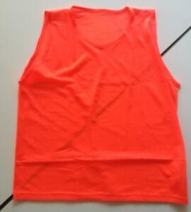 Leibchen in drei Farben  orange, blau, gelb, Fußball Set 3-6 oder 10 Stück