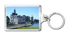 CORBEIL-ESSONNES FRANCE KEYRING SOUVENIR LLAVERO