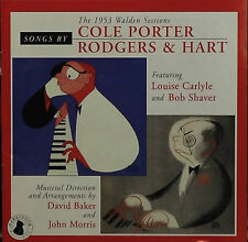 Louise Carlyle/Bob Shaver-Cole Porter/Rodgers & Hart-CD DISCOUNTED SHIPPING