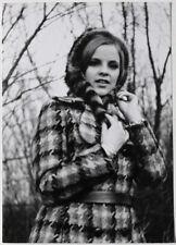 Echtes Original 1970er sexy amateur winter fashion model, Mode SNAPSHOT
