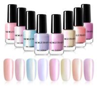 NICOLE DIARY 6ml Pearl Nail Polish Peel Off  Water-based Nail Art Varnish