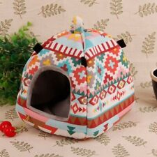 New listing Pet Hamster Tent Warm Hammock Cage Sleeping Bed Small Animal Guinea Pig House
