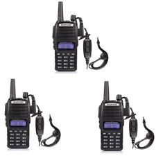 3Pcs Baofeng UV-82 Walkie Talkies Dual Band UHF/VHF Ham Two-way Radios uv-82 FM