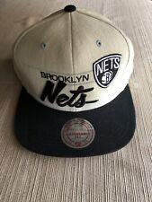 New Mitchell & Ness Brooklyn Nets Snapback Hat Cap Basketball NBA